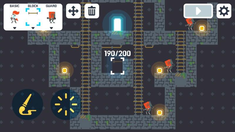 androidアプリ Lode Runner 1(ロードランナー ワン)攻略スクリーンショット4