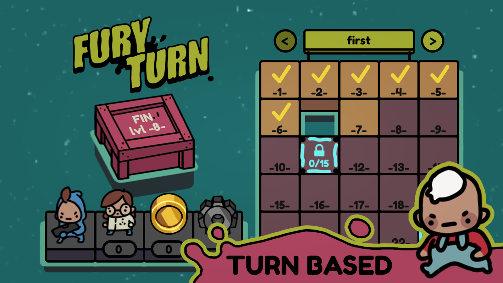 androidアプリ Fury Turn(フューリーターン)攻略スクリーンショット8