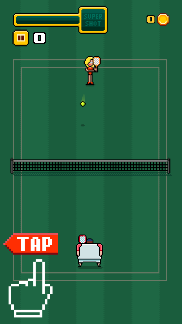 Timber Tennis androidアプリスクリーンショット3