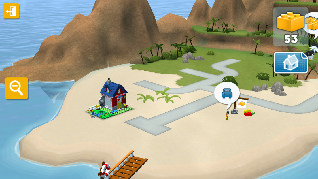 LEGO® Creator Islands androidアプリスクリーンショット1