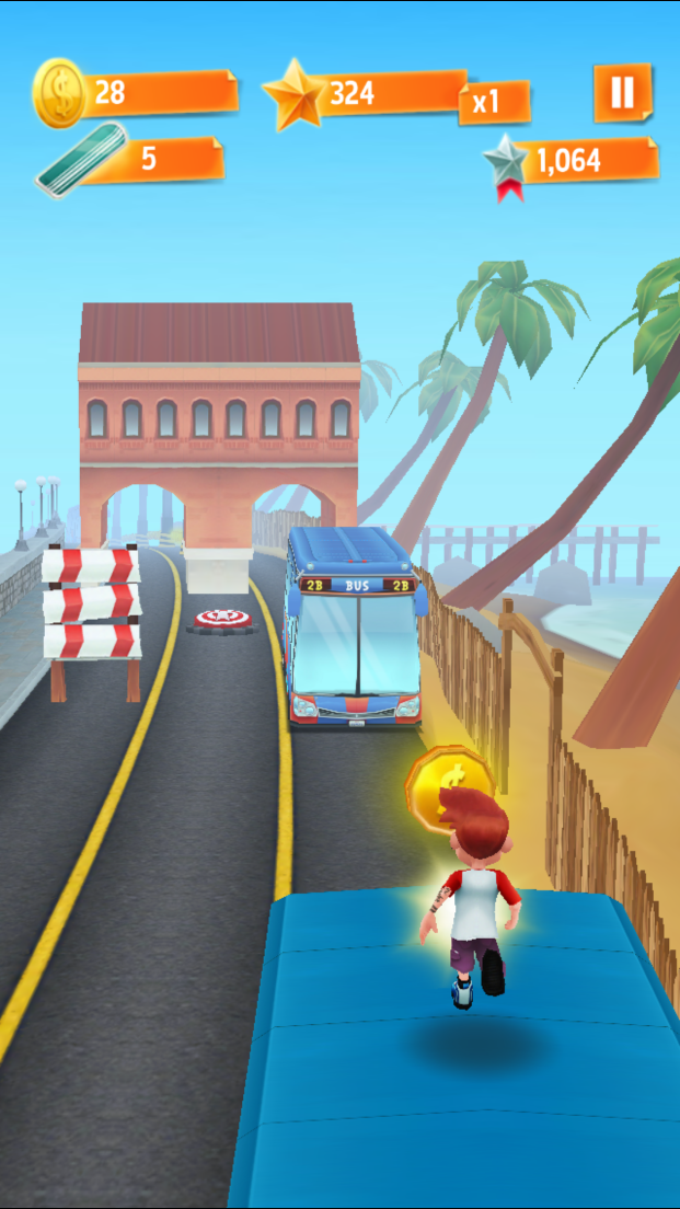 Bus Rush androidアプリスクリーンショット1