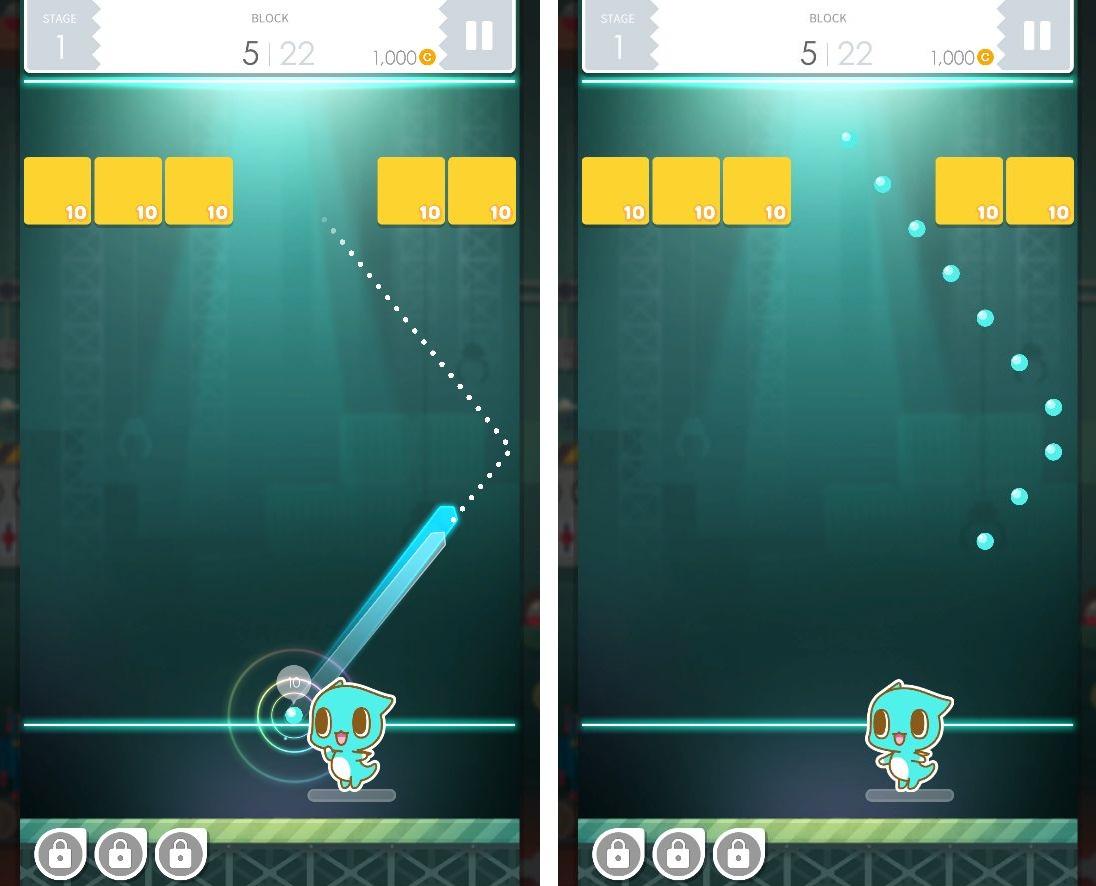 スプーンズ x ブロックス - Bricks & Balls androidアプリスクリーンショット1