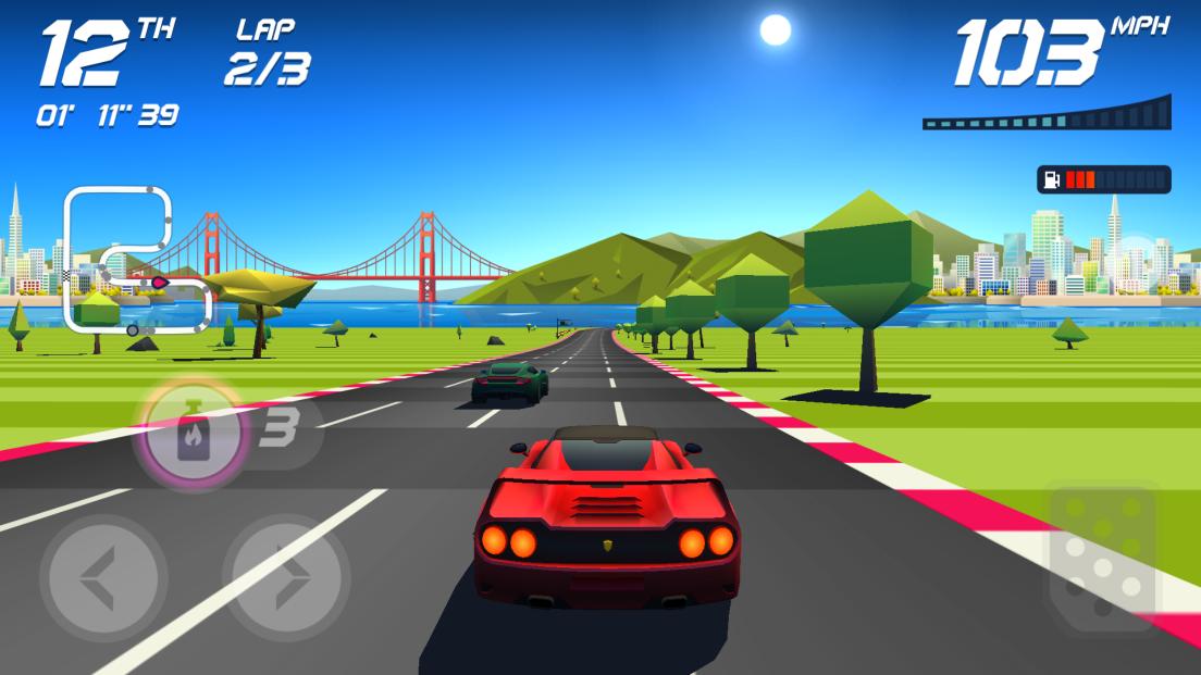 Horizon Chase androidアプリスクリーンショット1
