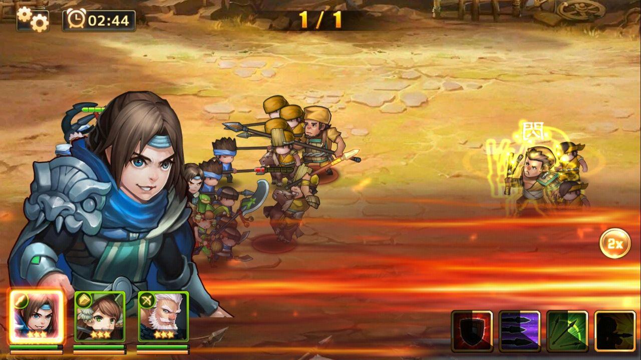 ドラゴンブレイド (DRAGON BLADE) androidアプリスクリーンショット1