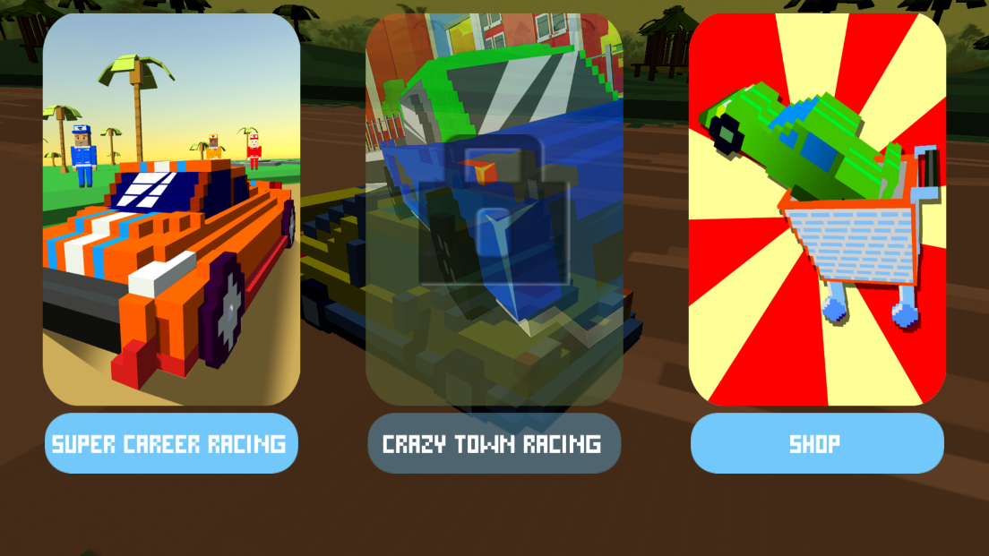 androidアプリ Horizon Blocky Racing攻略スクリーンショット1