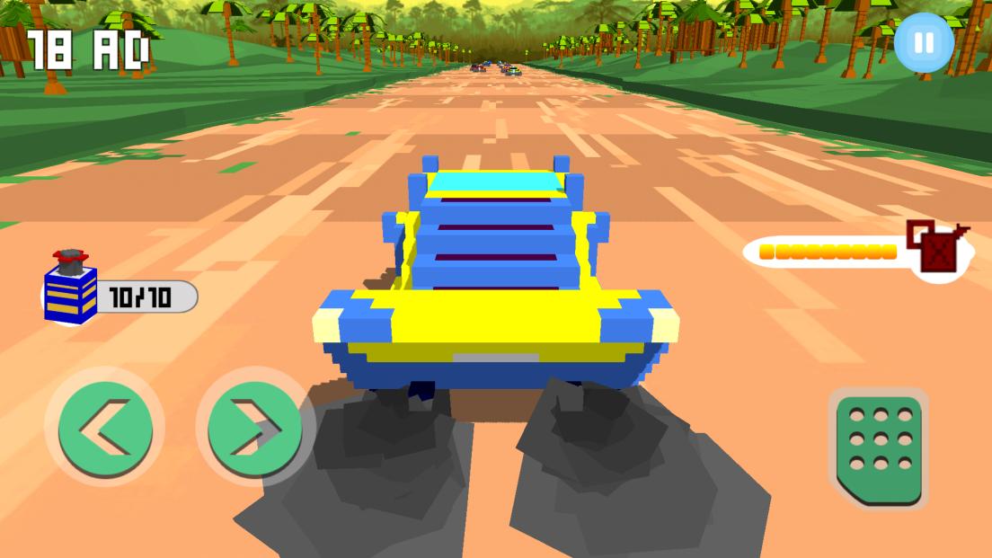 androidアプリ Horizon Blocky Racing攻略スクリーンショット3