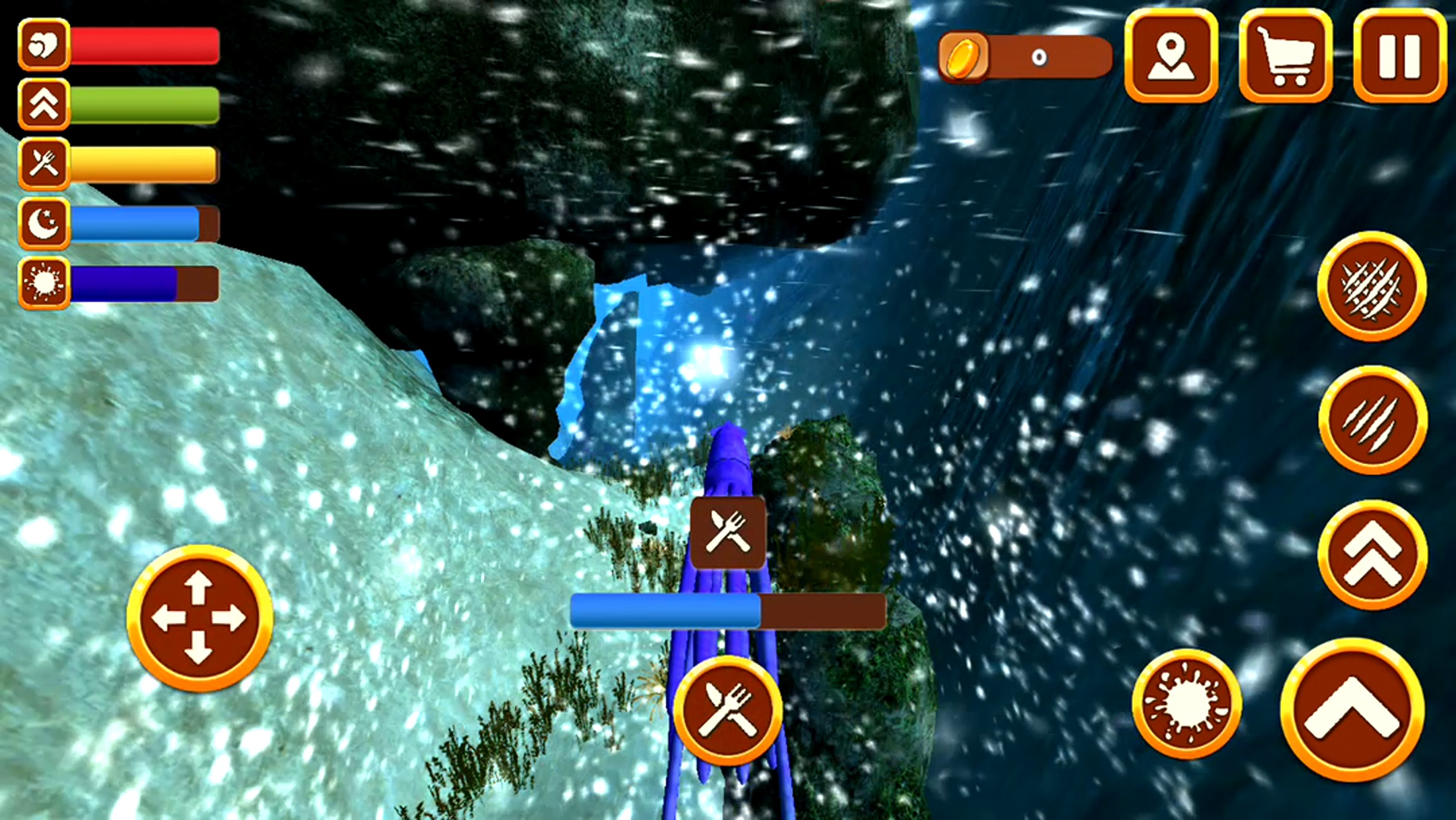 イカ水中生活シム3D androidアプリスクリーンショット1
