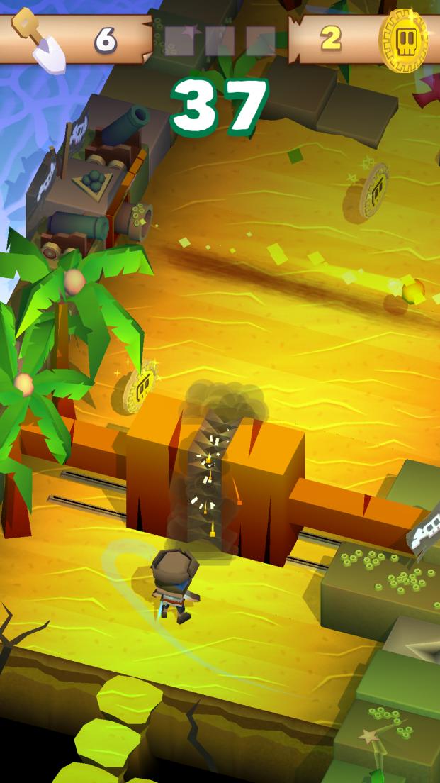 Blocky Pirates androidアプリスクリーンショット1