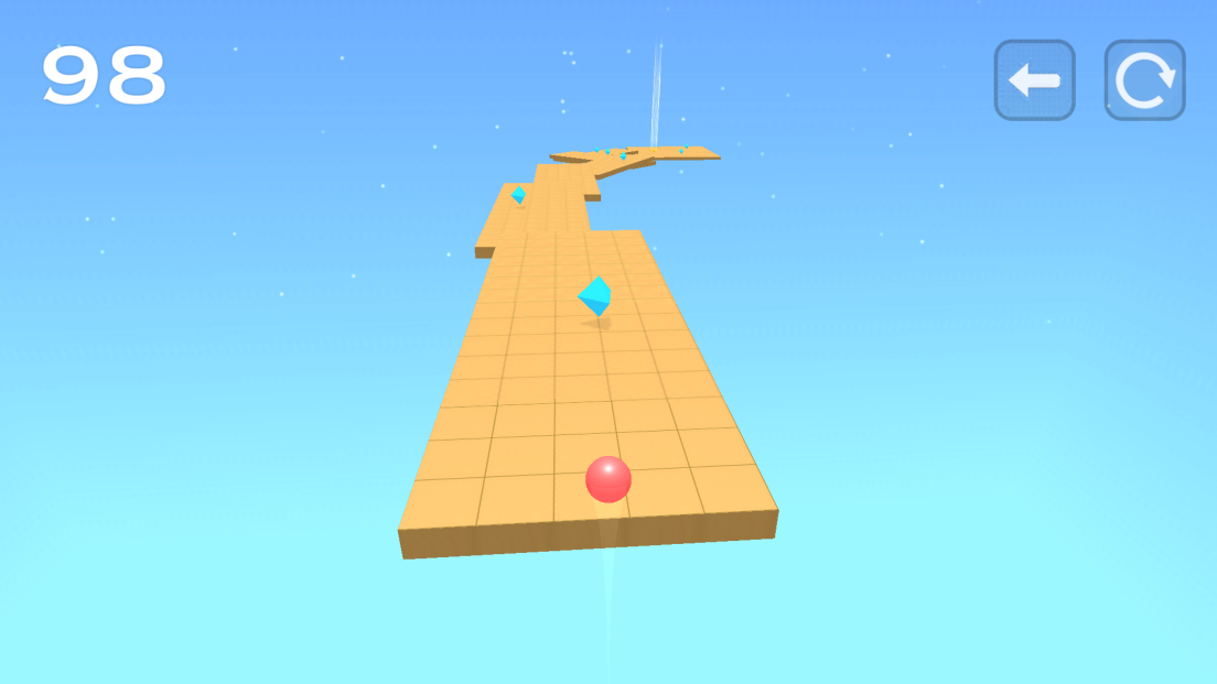 Speed Ball Run androidアプリスクリーンショット1