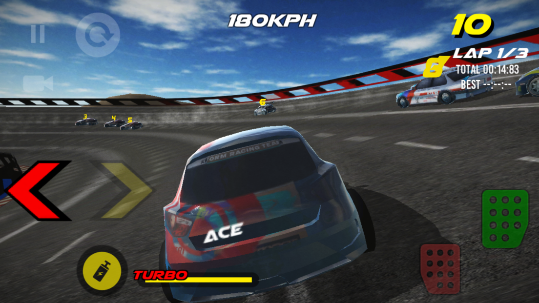 Ace Racing Turbo androidアプリスクリーンショット1