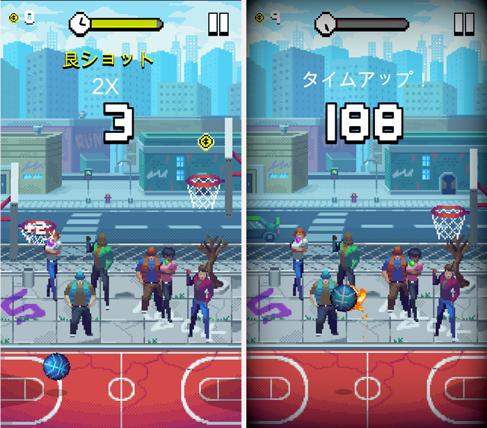 Bouncy Hoops androidアプリスクリーンショット1