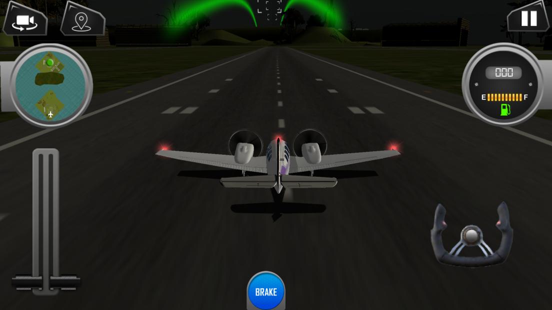 アイランドフライトパイロットパーキングシミュレーター androidアプリスクリーンショット1