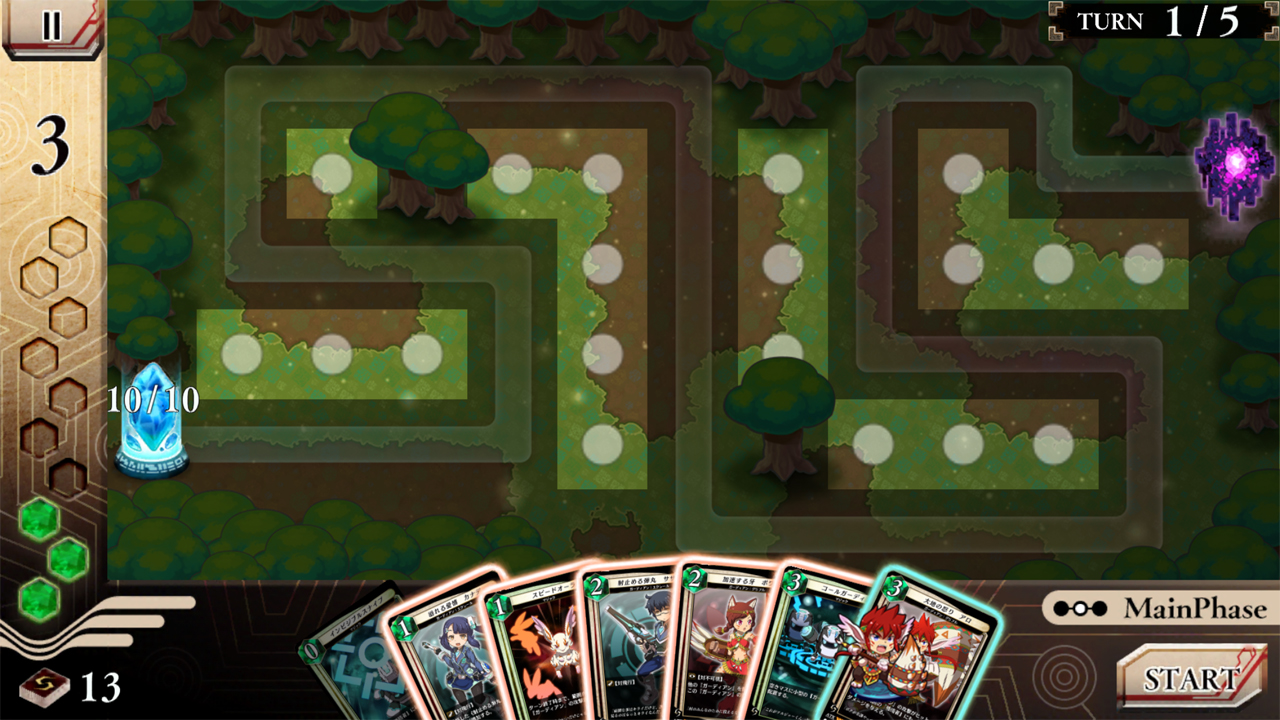 androidアプリ 十夜戦争ガーディアンサモン攻略スクリーンショット3