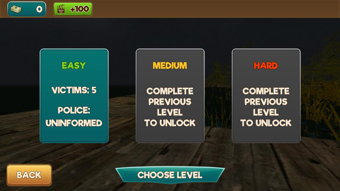 androidアプリ 金曜日13日:ジェイソンキラーゲーム攻略スクリーンショット3
