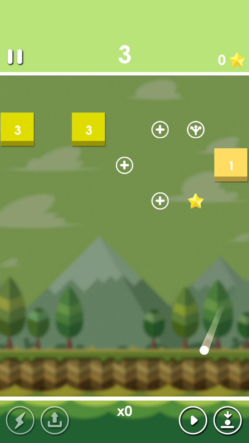 androidアプリ Shooting Block Defense攻略スクリーンショット3