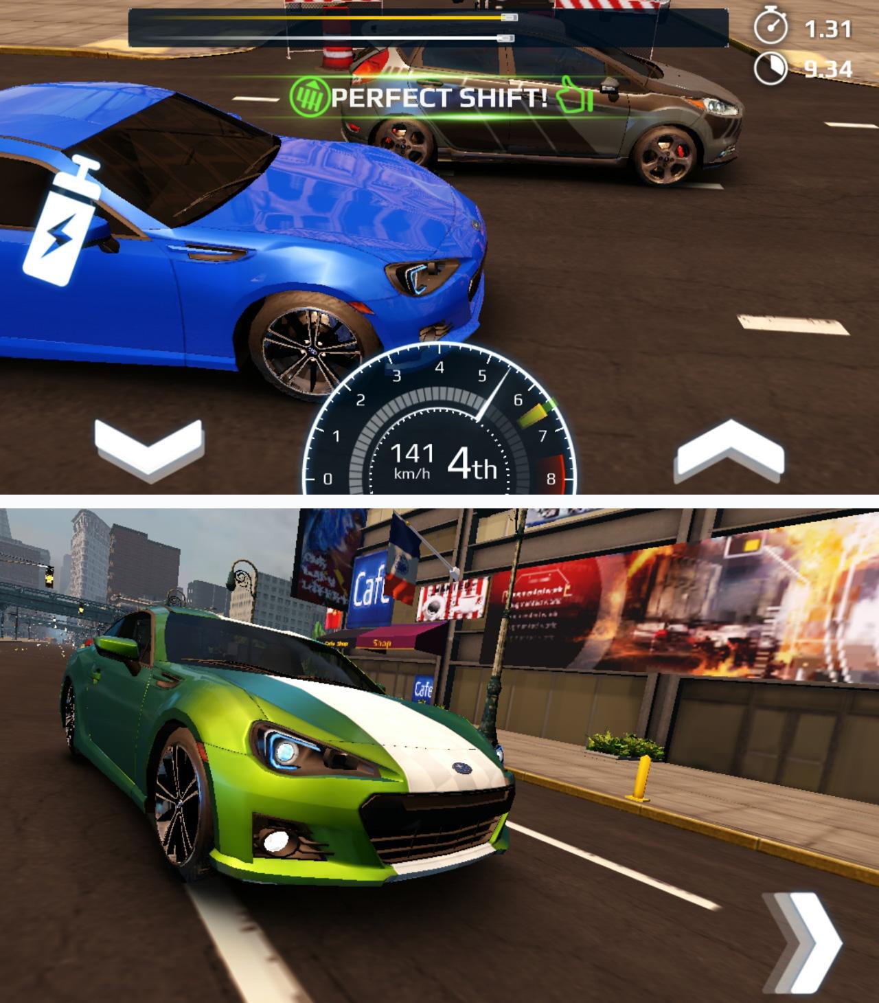 アスファルト:Street Storm Racing androidアプリスクリーンショット1