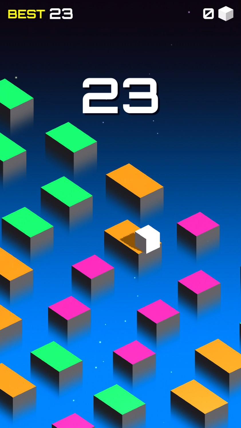 キューブはすぐにジャンプする androidアプリスクリーンショット3
