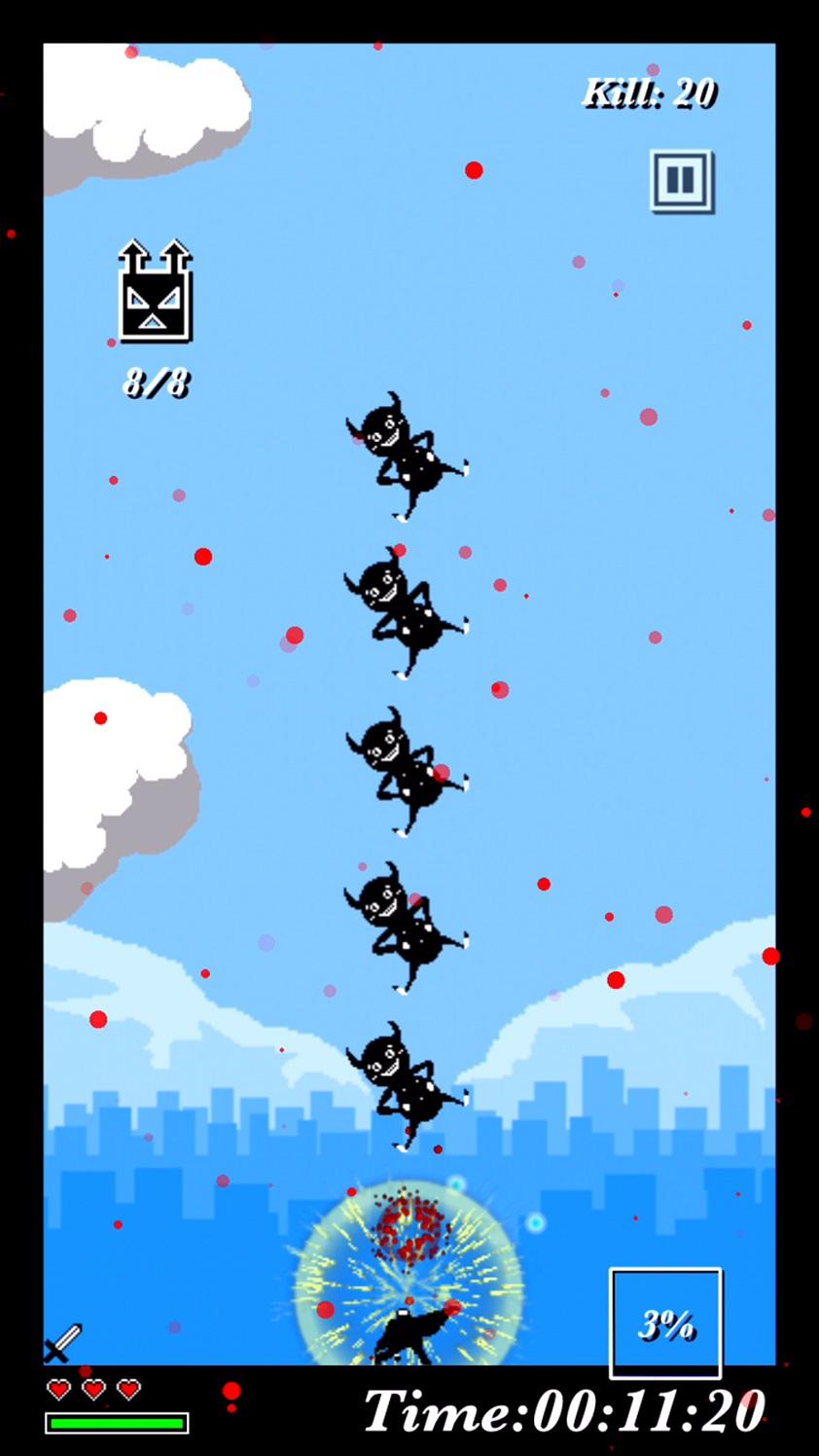 ジャンパンマン - Jump Punch Man - androidアプリスクリーンショット1
