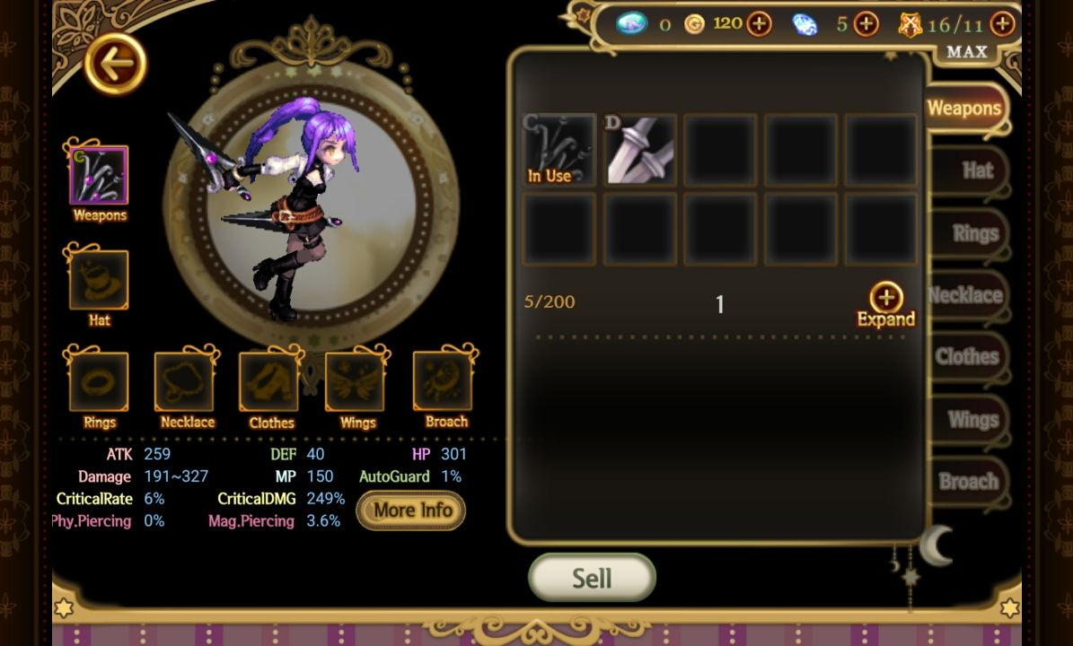 androidアプリ Song of the World :A beautiful yet dark fairy tale攻略スクリーンショット7