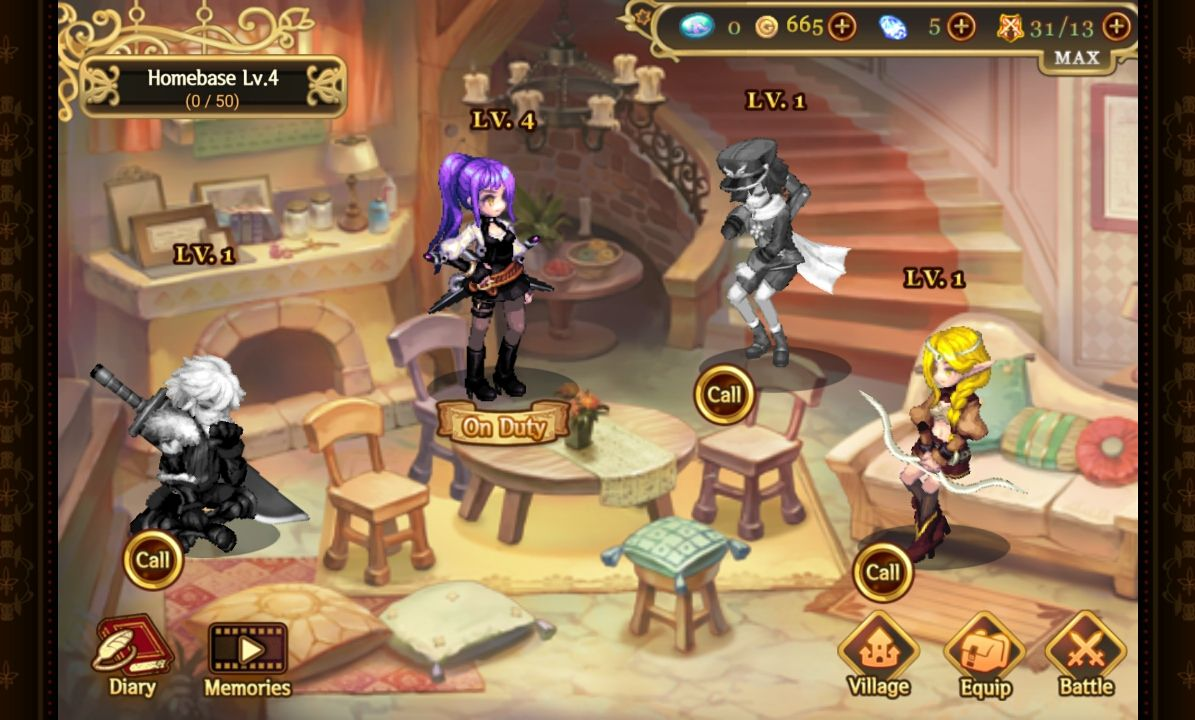 Song of the World :A beautiful yet dark fairy tale androidアプリスクリーンショット2