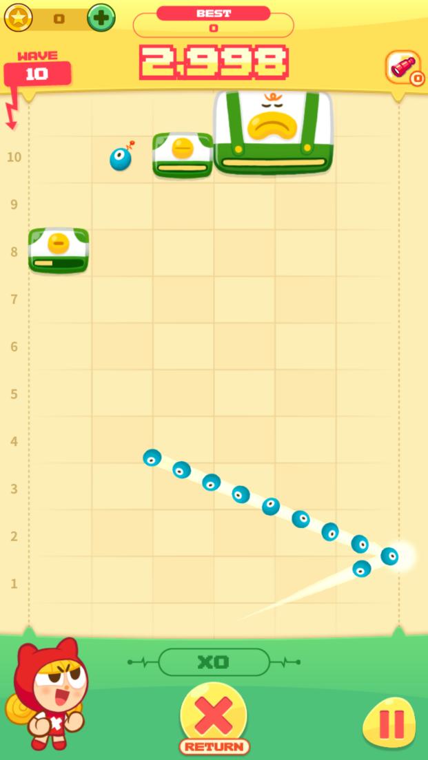 モモストライク(MOMO STRIKE) androidアプリスクリーンショット1