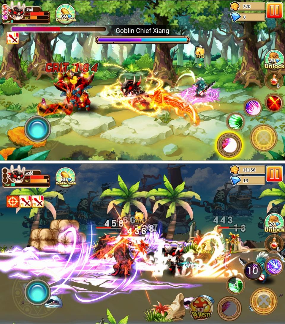 Gods Wars 4(ゴッドウォー4) androidアプリスクリーンショット1