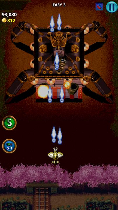 androidアプリ 戦国エース:天使第1話攻略スクリーンショット5