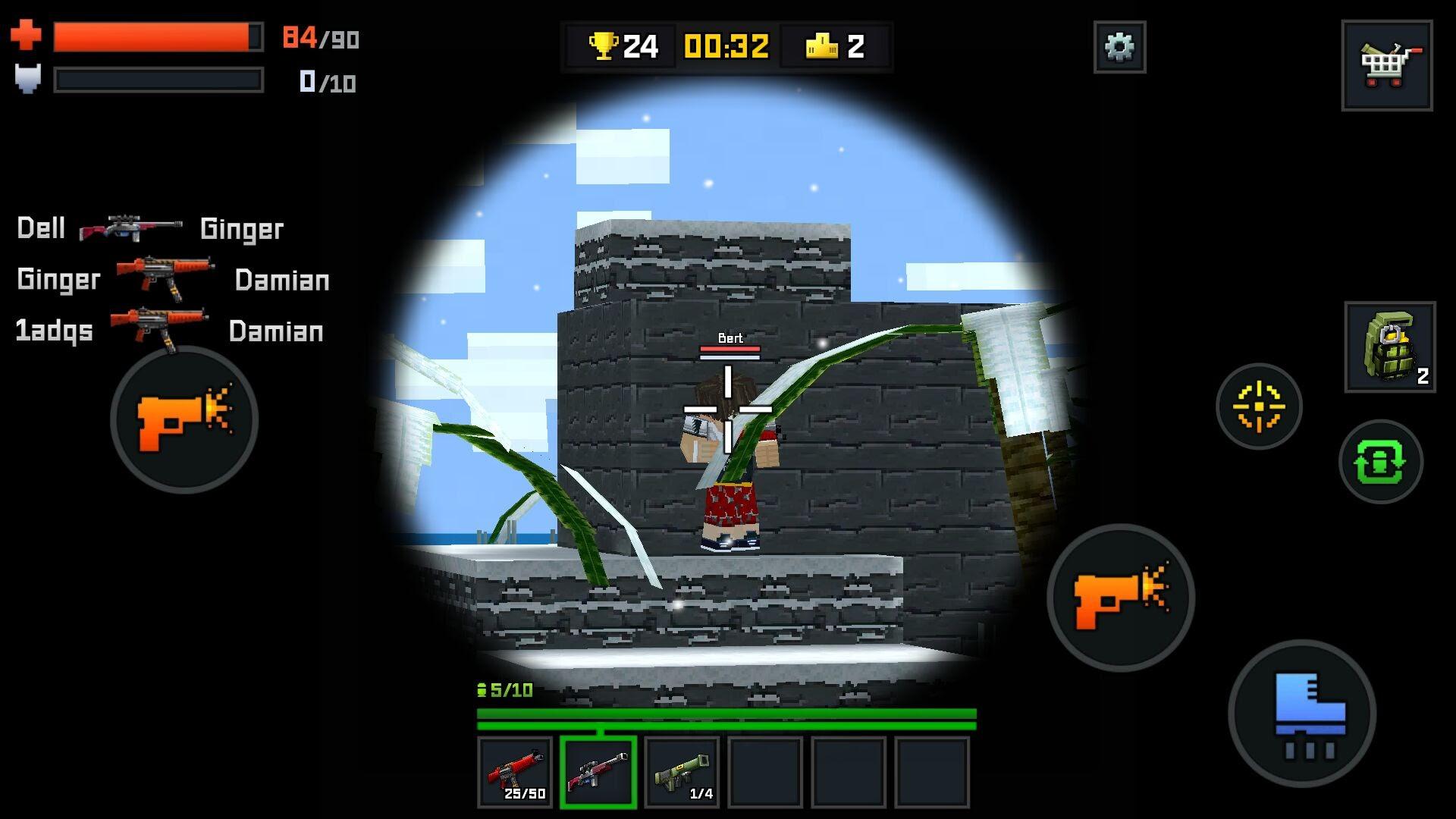 androidアプリ Pixelmon Shooting攻略スクリーンショット4