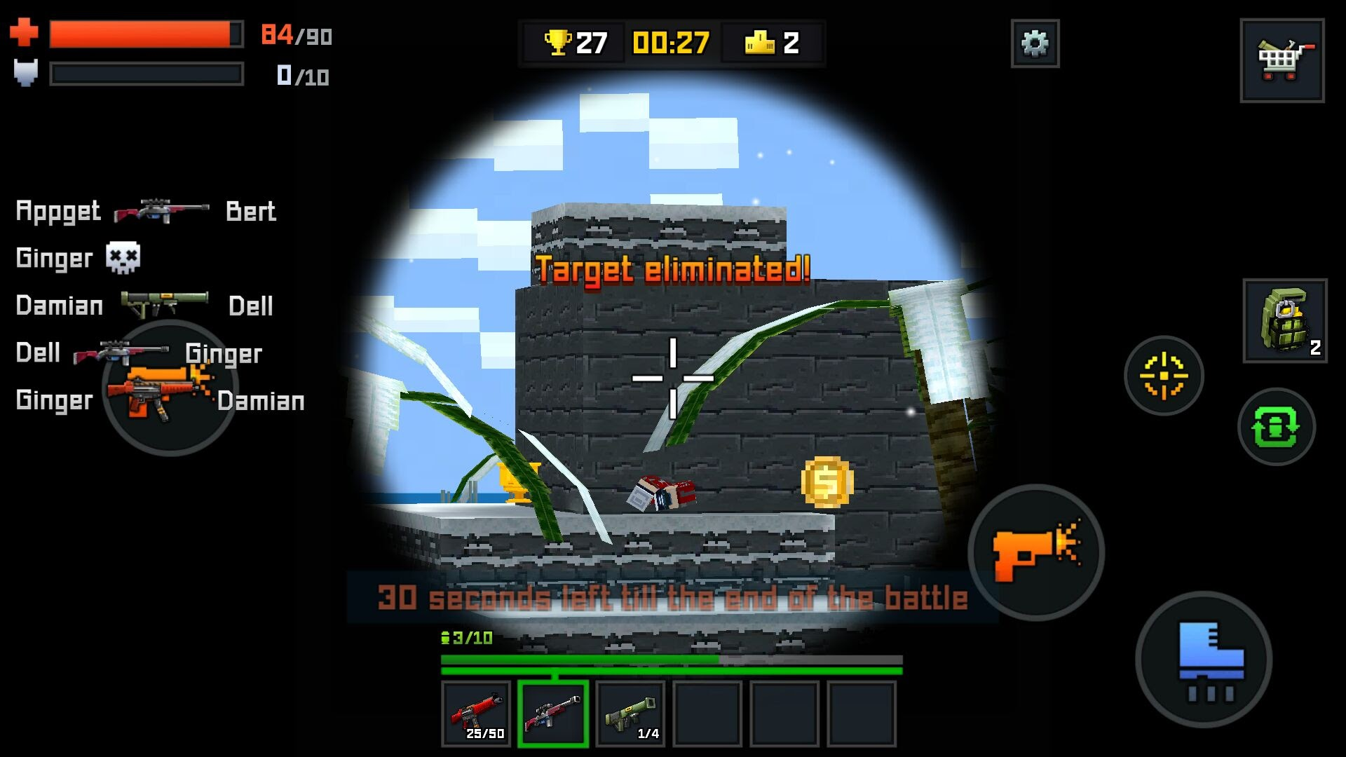 androidアプリ Pixelmon Shooting攻略スクリーンショット5