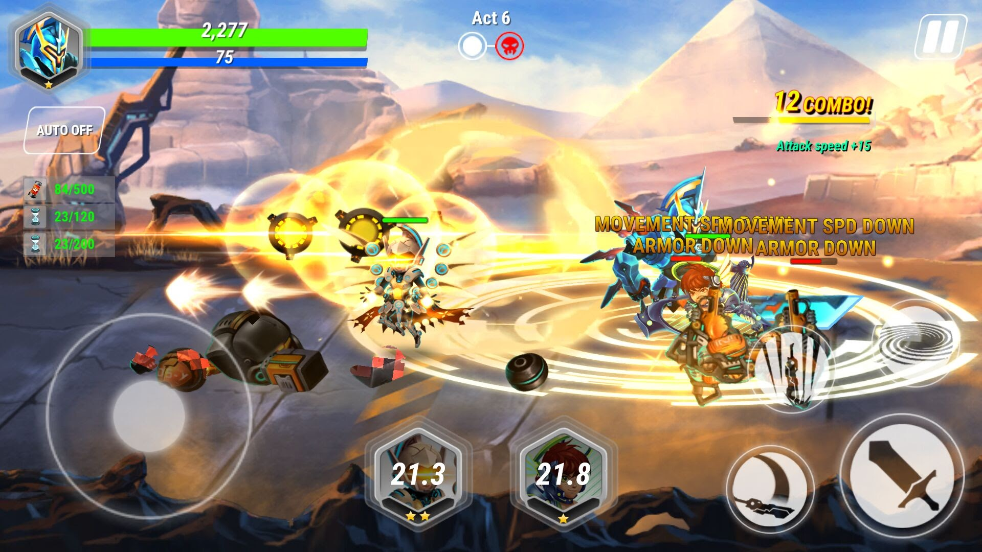Heroes Infinity androidアプリスクリーンショット1