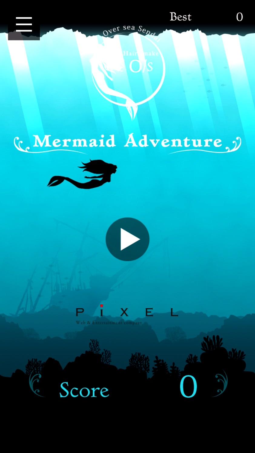 androidアプリ O/S Mermaid Adventure攻略スクリーンショット1