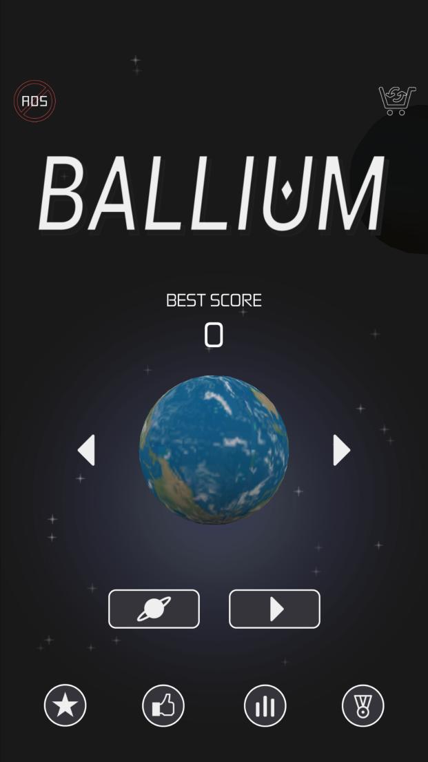 androidアプリ Ballium!攻略スクリーンショット1