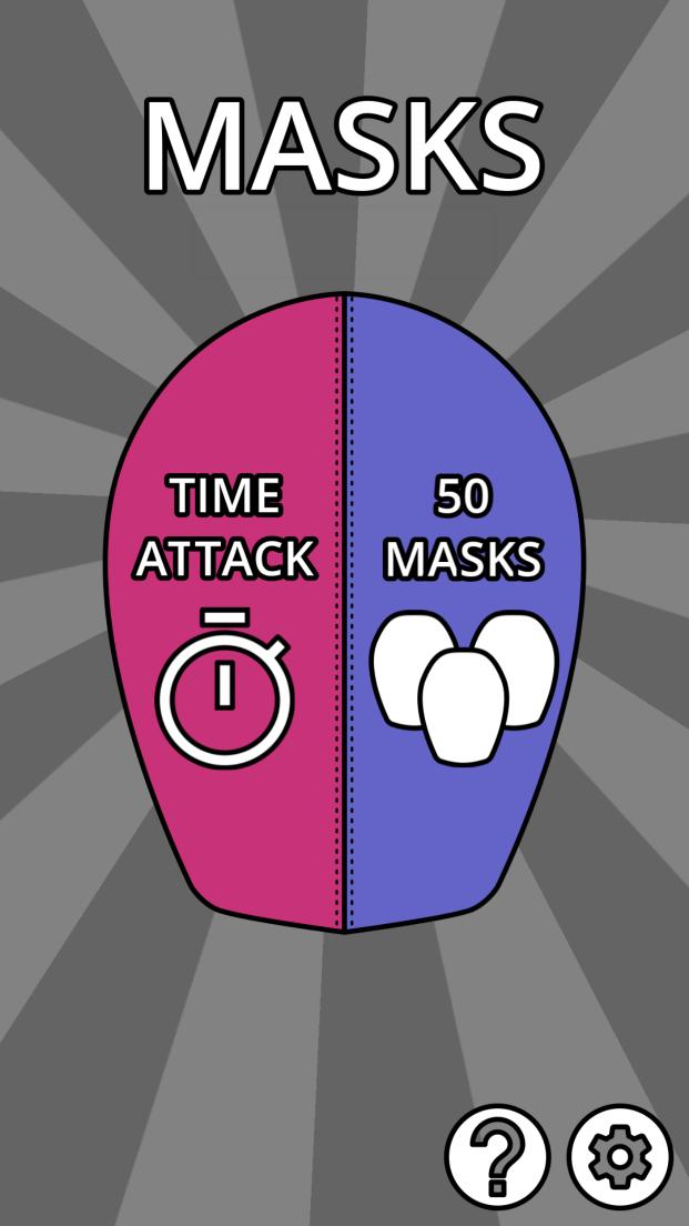 androidアプリ Crazy Masks攻略スクリーンショット1