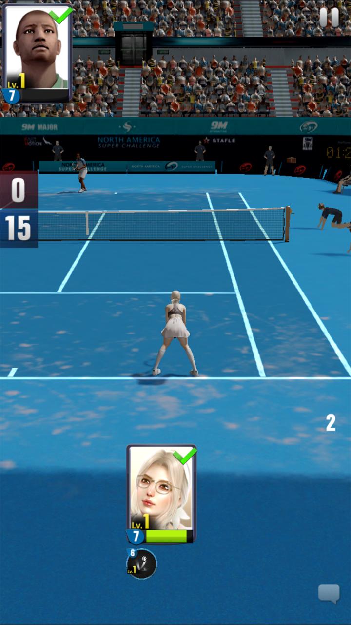 androidアプリ アルティメットテニス:革命攻略スクリーンショット3