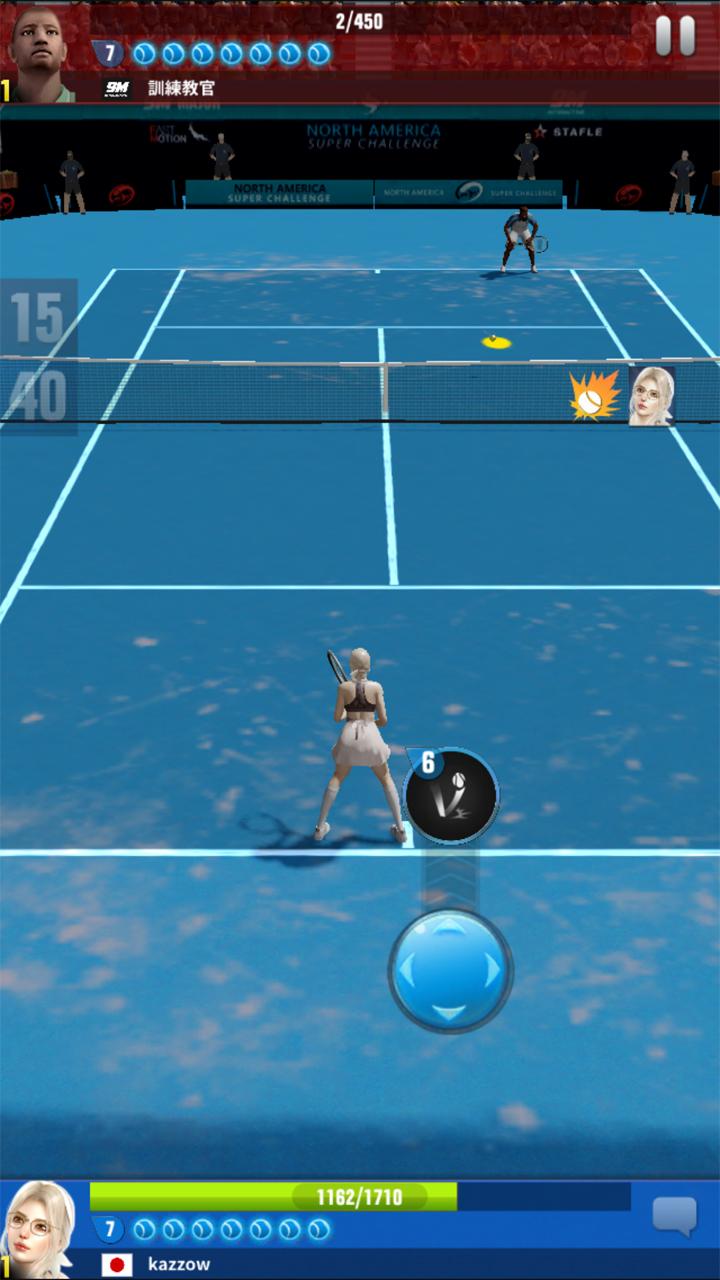 androidアプリ アルティメットテニス:革命攻略スクリーンショット5