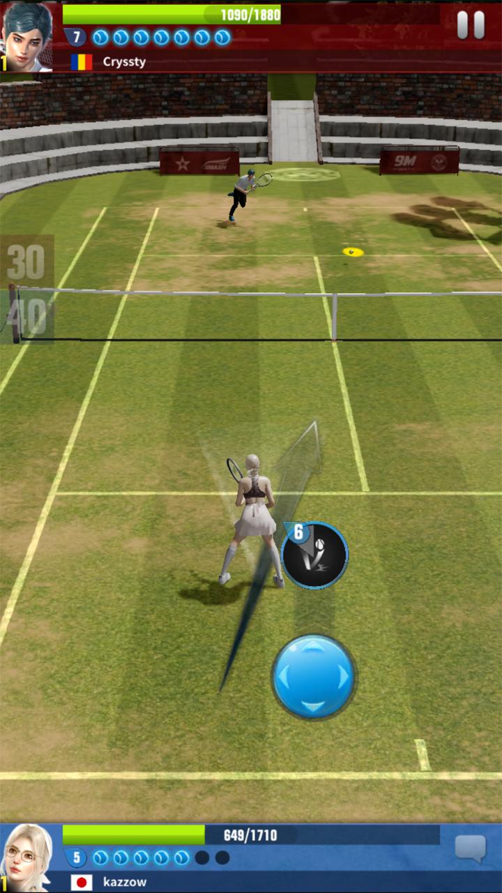 アルティメットテニス:革命 androidアプリスクリーンショット3