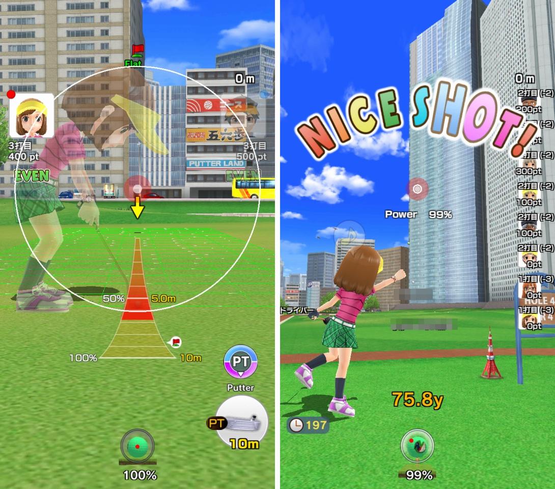 みんゴル(みんなのGOLF:スマホアプリ) androidアプリスクリーンショット2