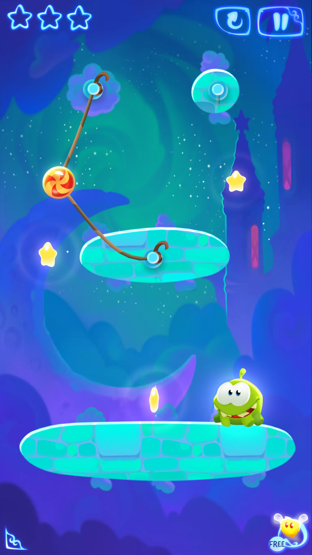Cut the Rope: Magic™ androidアプリスクリーンショット1