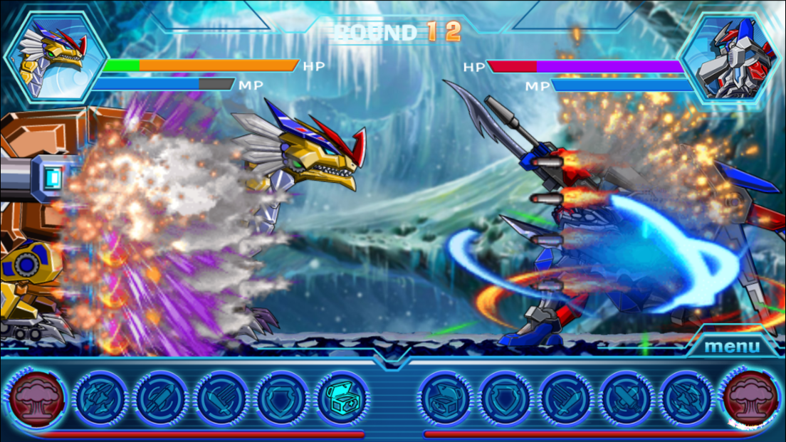 スチール竜騎士 androidアプリスクリーンショット1