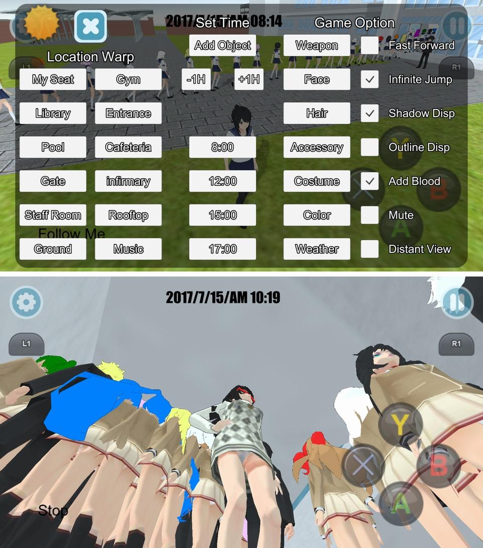 High School Simulator 2018(ハイスクール シミュレーター) androidアプリスクリーンショット3