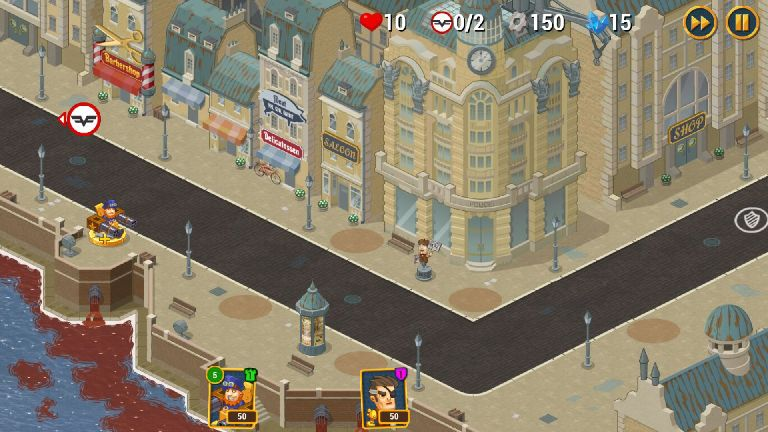 androidアプリ Steampunk Syndicate 2(スチームパンク シンジケート2)攻略スクリーンショット1