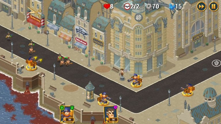 androidアプリ Steampunk Syndicate 2(スチームパンク シンジケート2)攻略スクリーンショット2