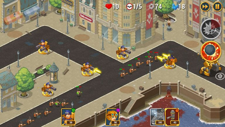 androidアプリ Steampunk Syndicate 2(スチームパンク シンジケート2)攻略スクリーンショット6
