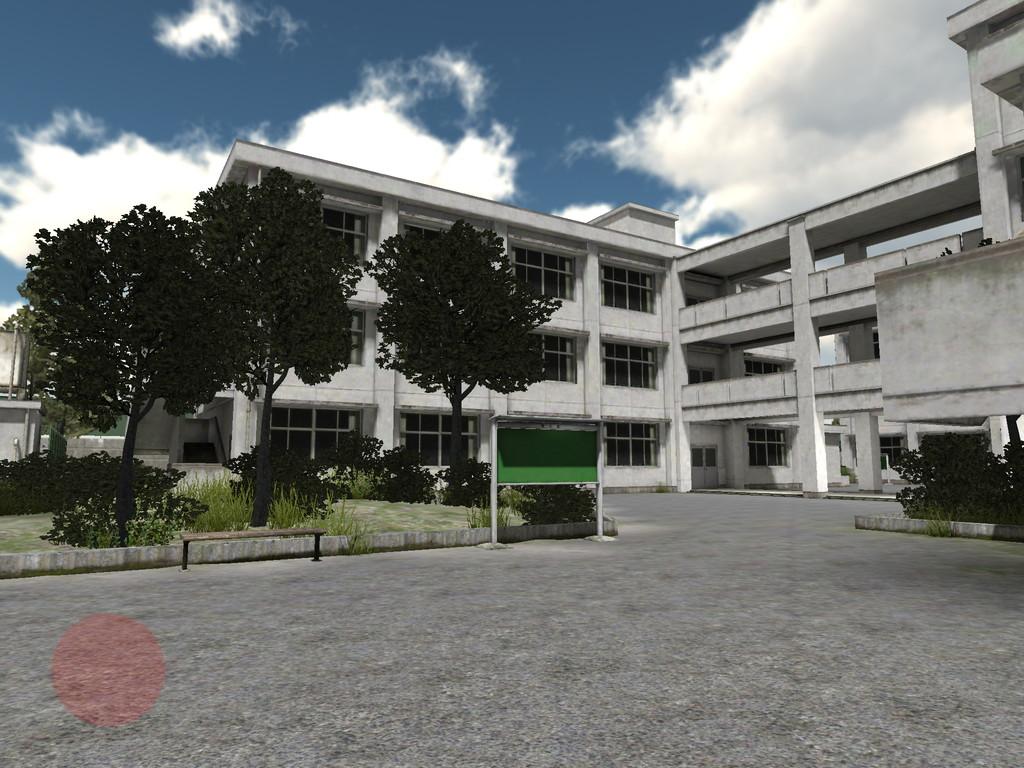 懐かしのキャンパス 3D(Nostalgia Campus 3D) androidアプリスクリーンショット1