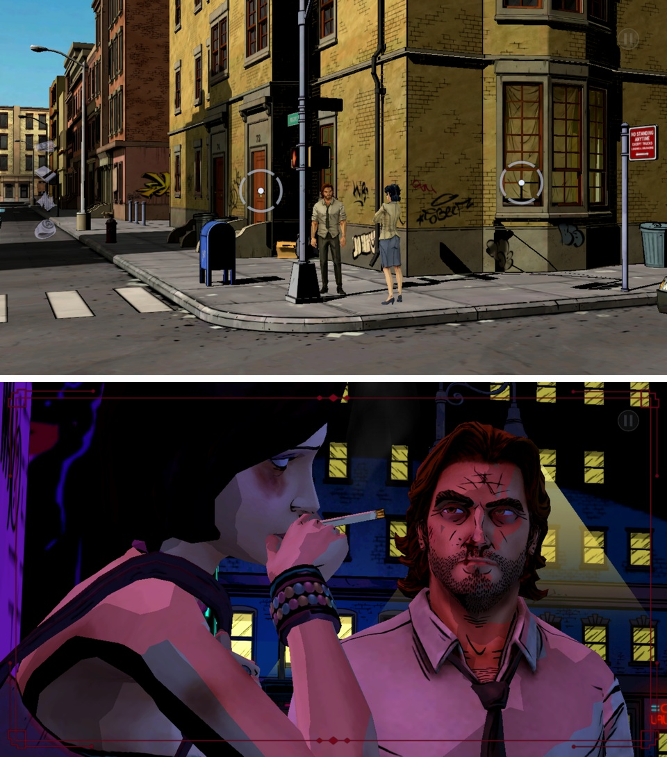 The Wolf Among Us:ビッグビーの事件簿 androidアプリスクリーンショット1