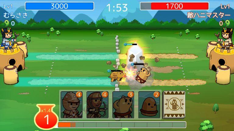 激突!ハニワールド androidアプリスクリーンショット3
