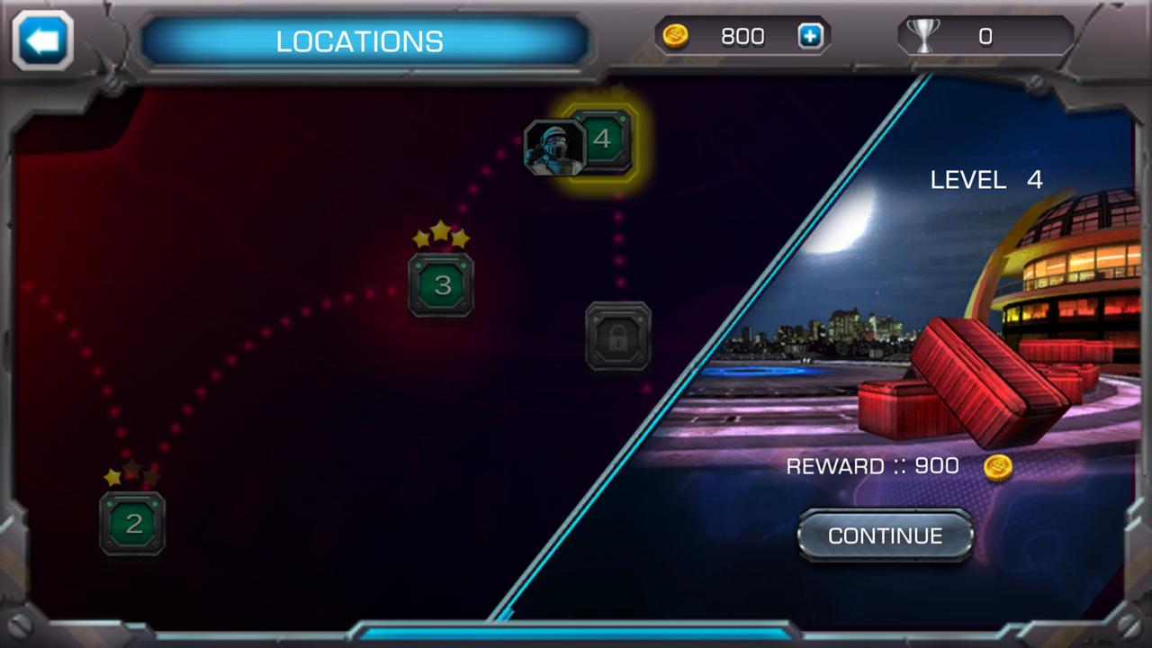 androidアプリ クラッシュ・オブ・ロボッツ(Clash Of Robots)攻略スクリーンショット3