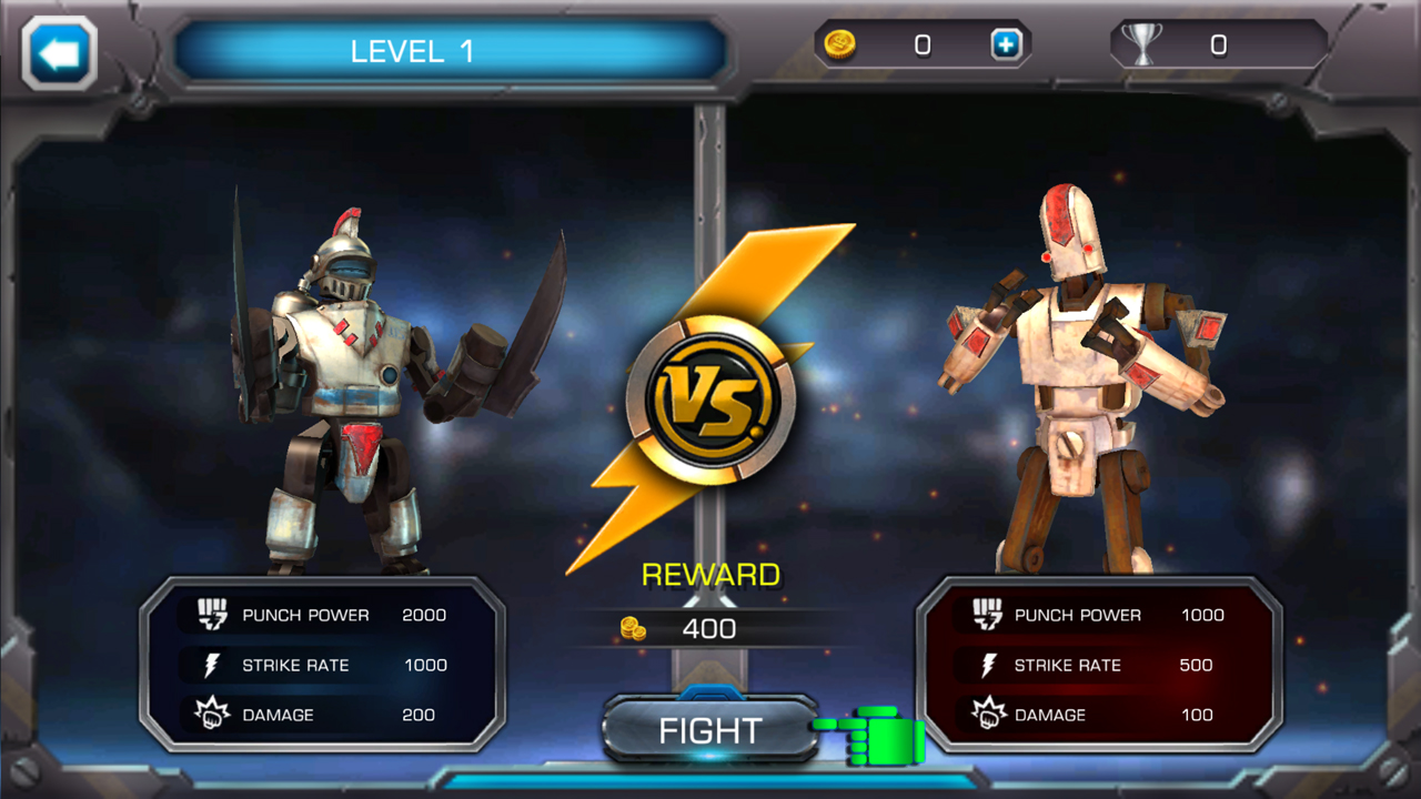 androidアプリ クラッシュ・オブ・ロボッツ(Clash Of Robots)攻略スクリーンショット4