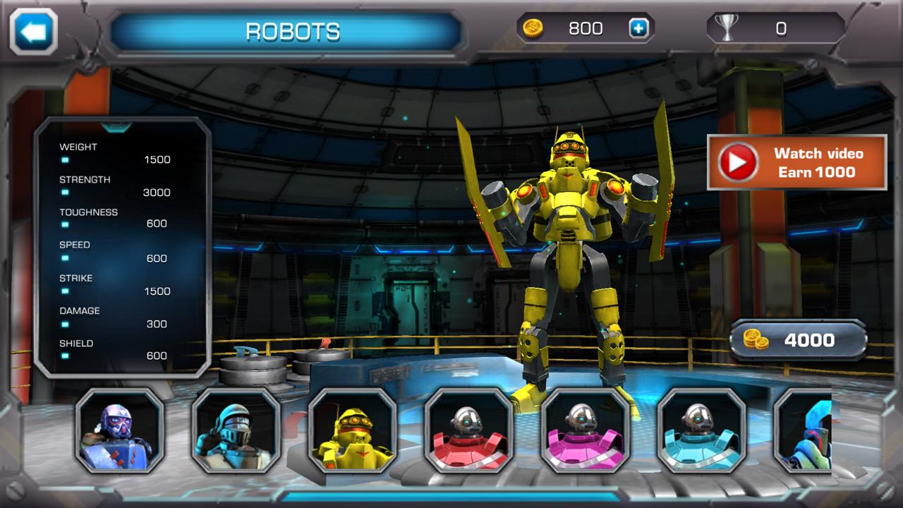 androidアプリ クラッシュ・オブ・ロボッツ(Clash Of Robots)攻略スクリーンショット6