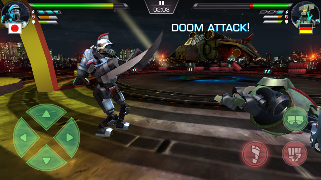 クラッシュ・オブ・ロボッツ(Clash Of Robots) androidアプリスクリーンショット1